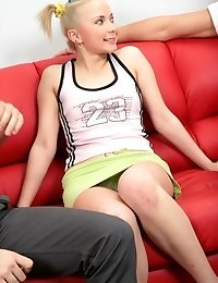 Hot Coed Gets Deflowered And Stretched On Camera