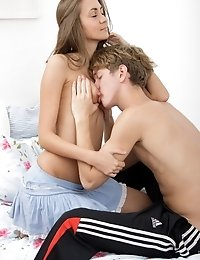 Teen Virgin Gets Her Mouth Drilled.