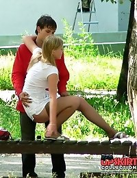 Public teen upskirt shots from my collection