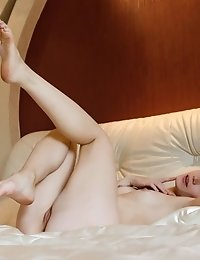A Man Would Be Really In Need Here To Satisfy This Horny Teen, But He Manages To Satisfy Herself Ful