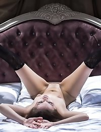 This Shapely Teen Spends The Night Alone In Her Villa Room Where Some Sexy Fun Is No Surprise.
