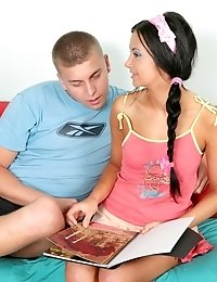 Lovely Teen Gets Screwed In Different Positions