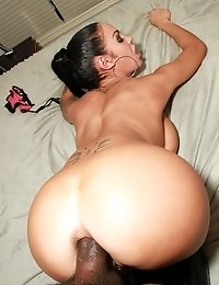 Horny slut gets fucked hard in her ass
