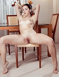 This Perfect Doll Has The Most Amazing Hairless Pussy That She Loves To Show Off In Each And Every P