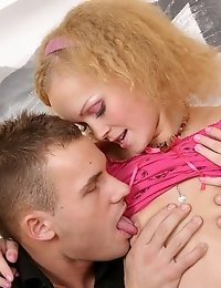 Playful Teen Hottie Gets Her Sweet Pussy Banged By Hugecocked Guy In Very Different Positions.