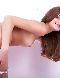 Soft Skin, Wide Opened Sexy Eyes And Sweet Shaped Body Of This Babe Will Make You Breath Harder. Ext