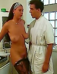 Hot nurse seduces and gets banged by the assistant