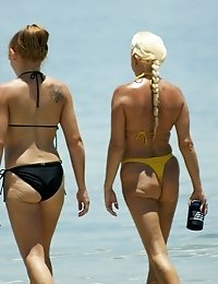 Teenie swimsuits covering hot bodies