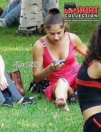 Extremely exciting upskirt shots