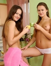 As A Matter Of Fact These Sexy Lesbian Teens Live Together And They Cant Imagine Their Lives Without
