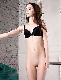 This Amazing Teen Looks Amazing As She Is Hanging Around While She Shows That Stunning Naked Body To