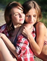 When Love Occurs There Is No Power What Can Stop It. Amazing Looking Teen Babes Having Great Fun On