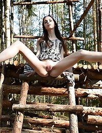 This Incredible Doll Has A Lot Of Fun With Showing That Amazing Body Off In The Great Outdoors, Wher
