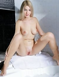 Busty Cutie Bathes Her Perfect Body And Makes Sure That Her Delicious Pink Pussy Stays Hot And Clean