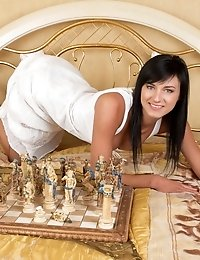 Playing Chess Or A Naughty Striptease Game Is A Regular Fun For This Great Looking Busty One. Have F