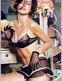 Sexiest outfits of Adriana Lima