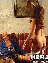 Classic porn of two couples doing natural fucking