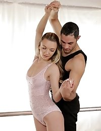 Petite Cutie Molly Mae Peels Off Her Sheer Leotard And Gets It On With Her Ballet Coach In A Hardcor
