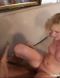 Irresistible Blonde Bitch Is Burning To Feel This Cock Inside