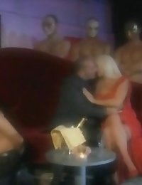 Sexy Blonde star and brunette babe getting eaten