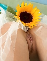 Two Things Are Most Desired In Bed. First Is A Good Mood, Second A Fantastic Shaped Fresh Babe. With