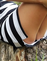 Welcome to see the real upskirt tease