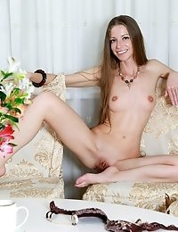 Teen Cutie Makes The Sexiest Show Out Of Showing Off Every Inch Of Her Flawless Curves For You In He