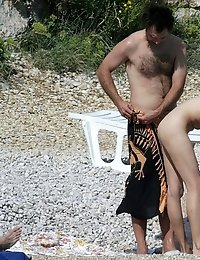 Horny seduction from real nudists