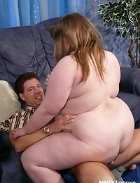 Chubby housewife enjoys a good hard cock