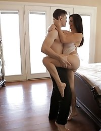 Watch Holly Michaels Use Her Stunning Body And Her Incredible Breasts To Get Her Man Hot And Ready F