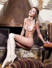 Her Alluring Teen Sexiness Cannot Be Held With Anything So It Is Best To Lay Back And Enjoy Her Hot