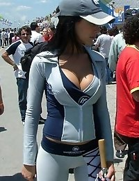 Tiny tops of titted chicks hardly holding heavy melons