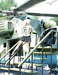 As Soon As This Indescribable Angel Appeared On The Military Area She Immediately Went To Take Some