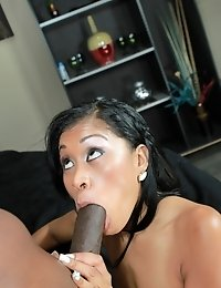 Phat black ass gets destroyed by a really big dick