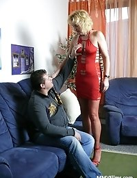 Slutty housewife loves getting a good fucking