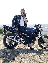 Freedom, Pure And Wild Nature, Heavy Motor Power And Cute Chick. Nothing More That A Real Man Need F