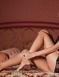 True Feelings Of Lust Are Expressed As She Strips Down Slowly To Express Some Real True Passion On H
