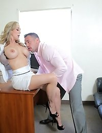 When Hollie Mack Films Brandi Love Making Out With Her Student Johnny Castle, Brandi Will Do Anythin