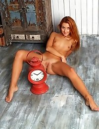 Sassy Redhead Teen Drops That Tight Little Booty Of Hers On The Floor And Teases Your Desires With A