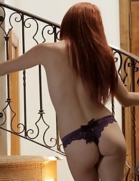 Redhead Elle Alexandra Is So Hot And Horny That She Has To Stop Everything And Pleasure Her Needy Pu