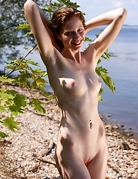 Alluring Hot Babe With Mystic Smile Offer Precious And Unforgettable Time In A Fantastic Natural Env