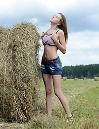 Her Urge Of Lust Cannot Be Left Unnoticed Whenever She Shows That Perfect Teen Pussy Off In An Entir