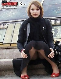The real feast for street upskirt fans