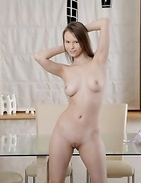 Join Brunette Beata As She Fucks Her Needy Pussy With Her Fingers And Works Her Way Towards An Incre