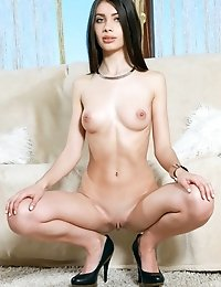 This Fantastic Slim Babe Has The Most Desirable Smile Ever Seen. Super Sexual, Hot Picture Sets Feat