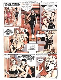 Adult sex comic mistress and slave games